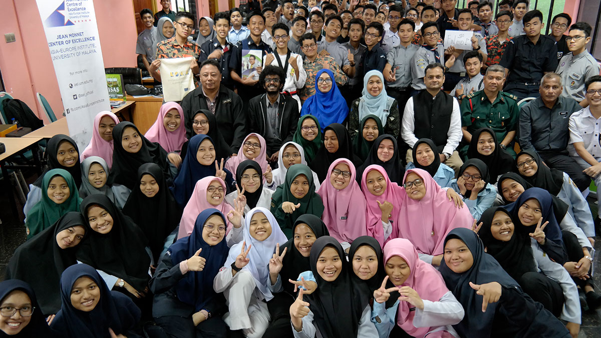 Photo Gallery: Europe Day High School Outreach 2019 - Sekolah Berasrama Penuh Integrasi Gombak