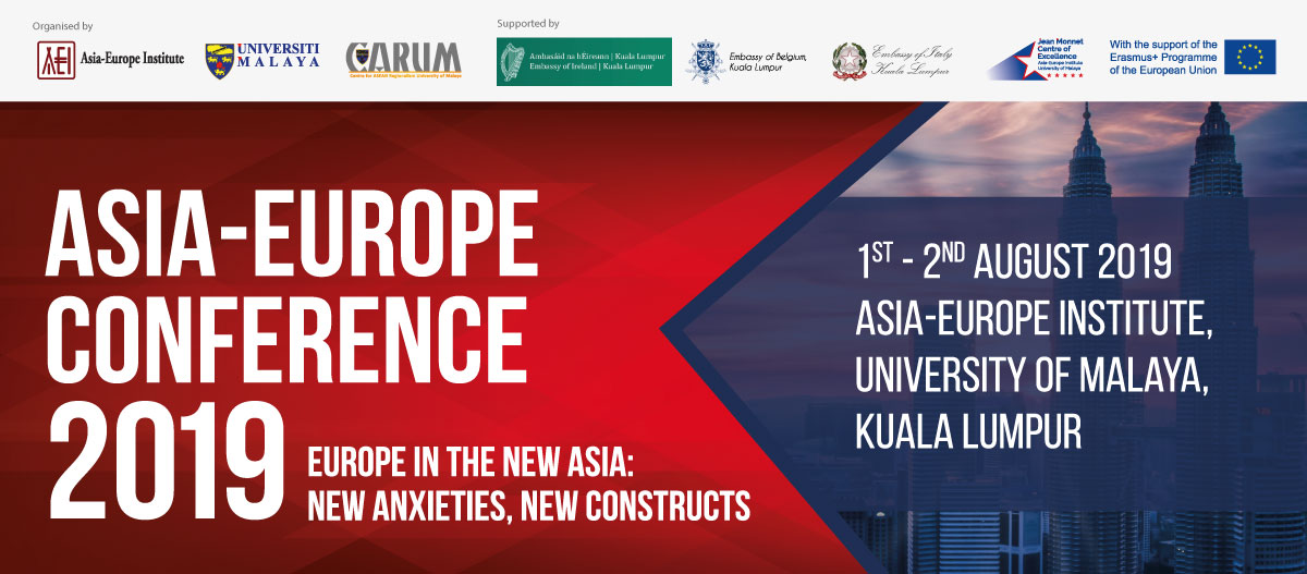 Asia-Europe Conference 2019 | Jean Monnet Centre of