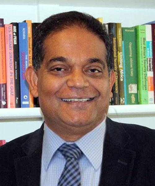 Prof. Dr. Amitav Acharya