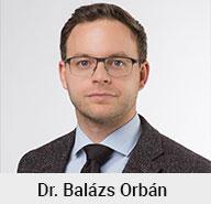 Dr. Balázs Orbán