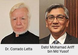 Dr. Corrado Letta, Dato' Mohamad Ariff bin Md Yusof