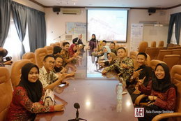 Visit from Wahid Hasyim University delegation 1