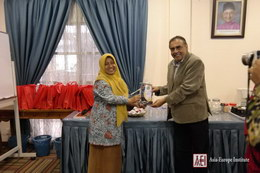 Visit from Wahid Hasyim University delegation 5
