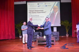 Ambassador Lecture Series – Direct Democracy: The Swiss Experience 6