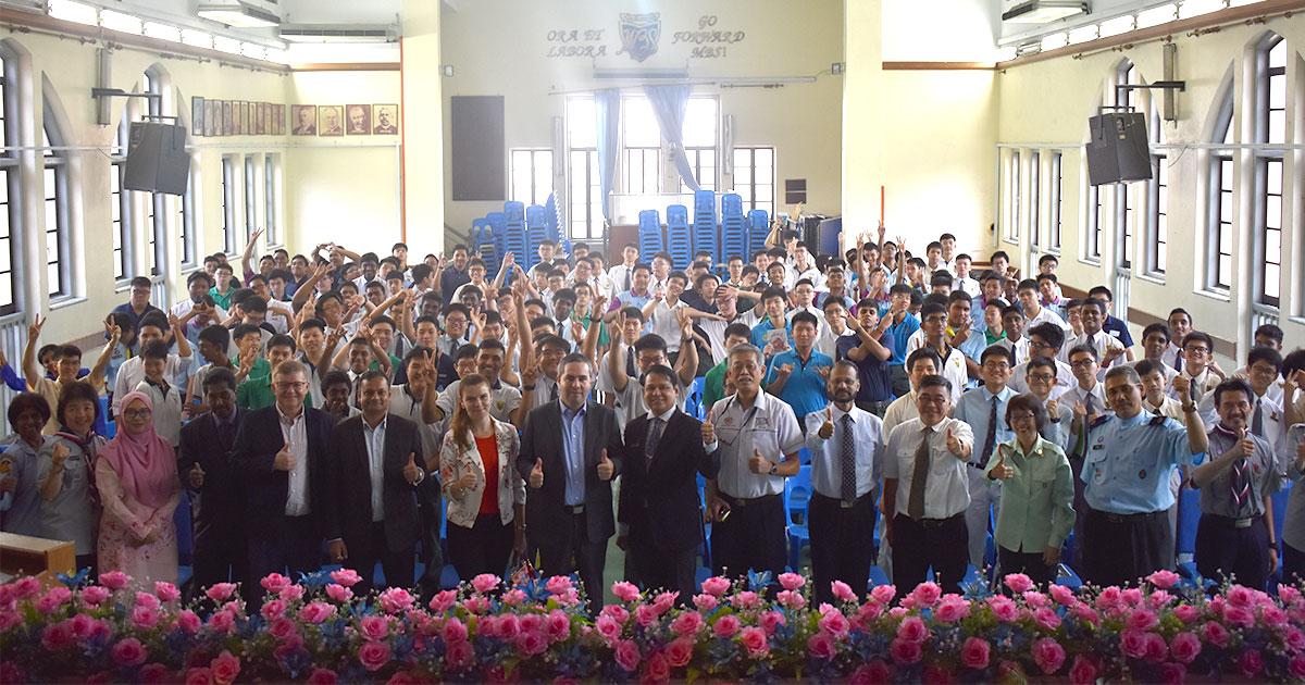 Report: Europe Day High School Outreach 2019 - Sekolah Berasrama Penuh Integrasi Gombak