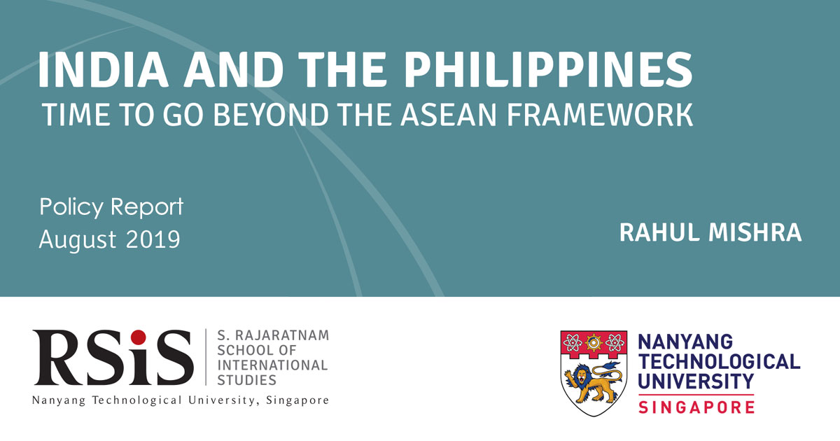 India and the Philippines: Time to Go Beyond the ASEAN Framework