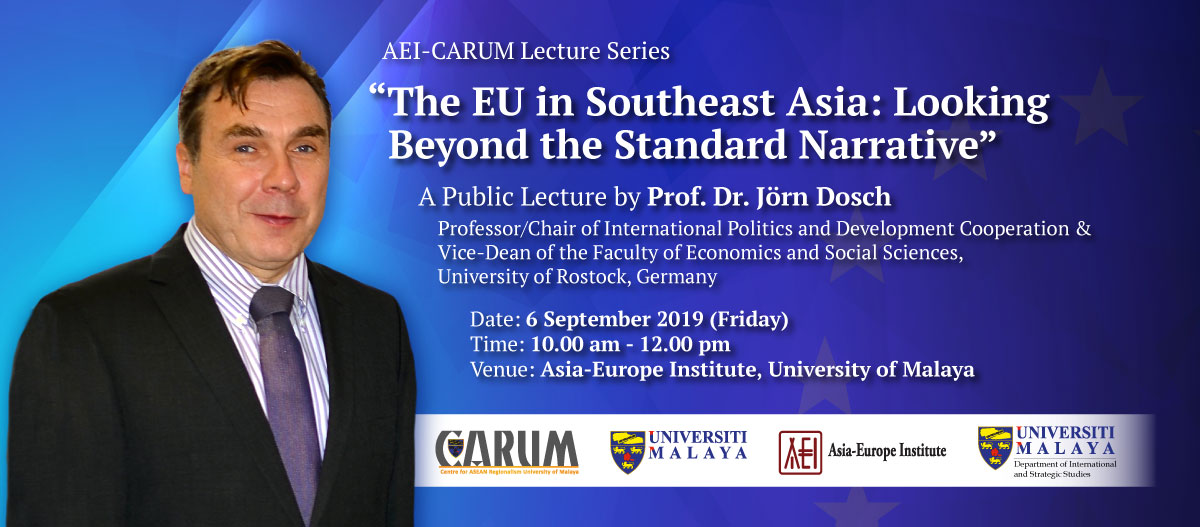 A Public Lecture by Prof. Dr. Jörn Dosch