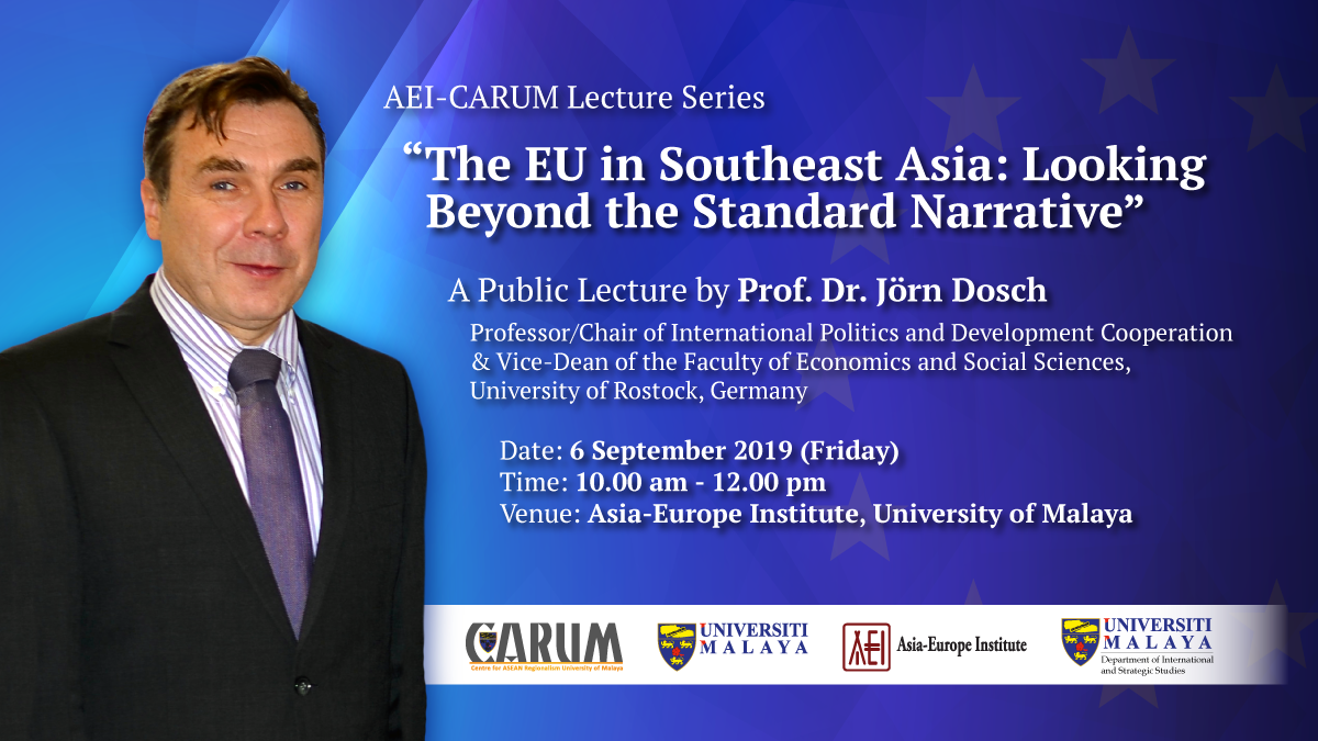 The EU in Southeast Asia - Looking Beyond the Standard Narrative