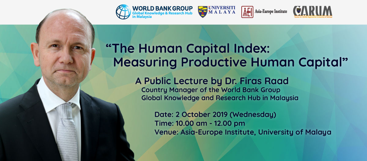 A Public Lecture by Dr. Firas Raad