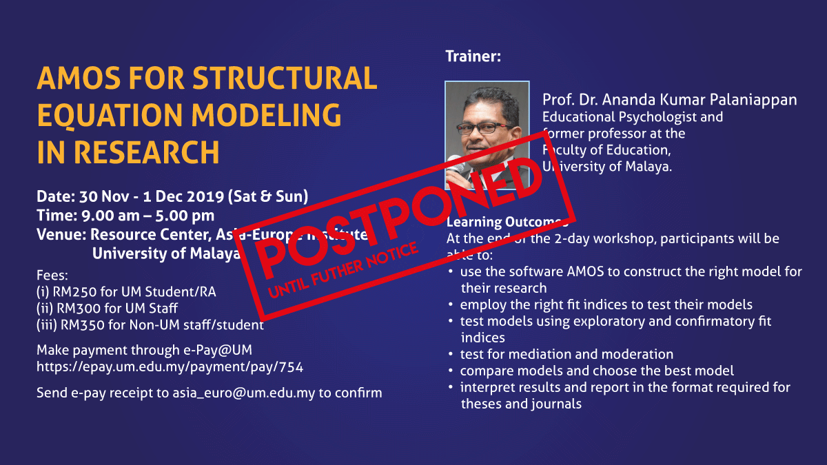 AMOS for Structural Equation Modeling in Research