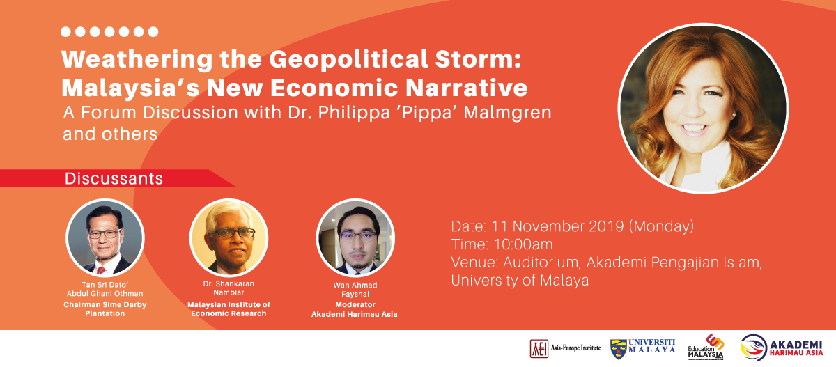 A Forum Discussion with Dr. Philippa 'Pippa' Malmgren and others
