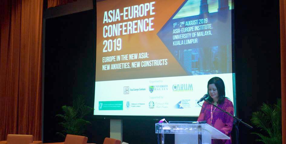 Prof. Dr. Azirah Hashim, Executive Director of Asia-Europe Institute, University of Malaya