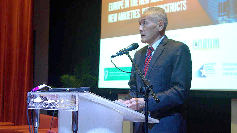 YBhg. Datuk Dr. Abdul Rahim Hashim, Vice Chancellor of the University of Malaya