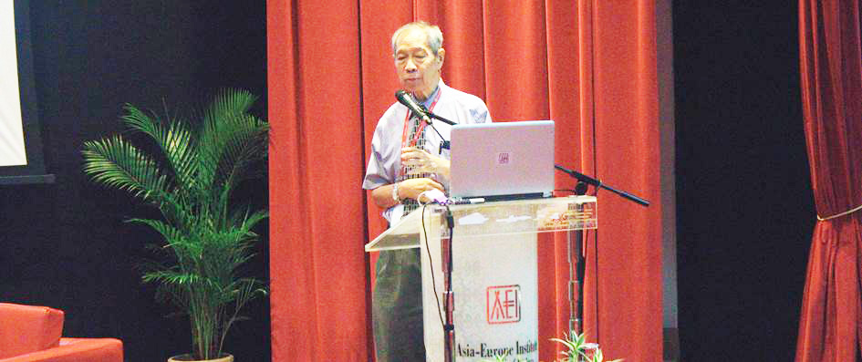 Dr. Cheong Kee Cheok, former Professor and Dean at the Faculty of Economics and Administration, University of Malaya