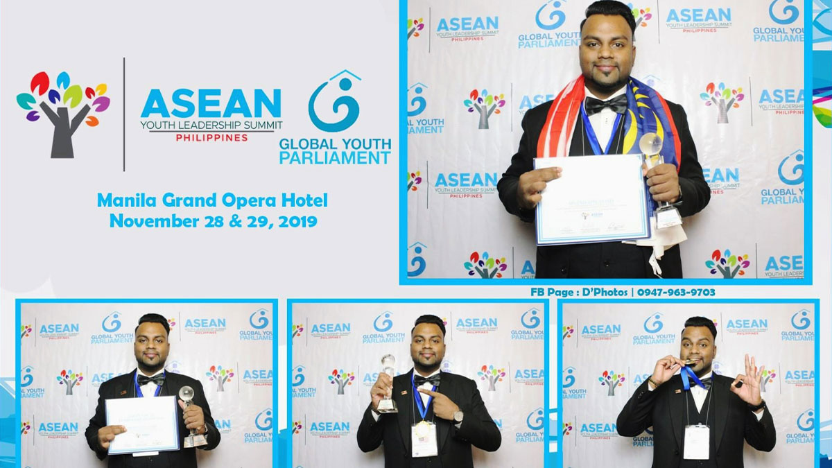 Congratulations to Mr. Arvend Applasamy on receiving the ASEAN Youth Leadership Award 2019