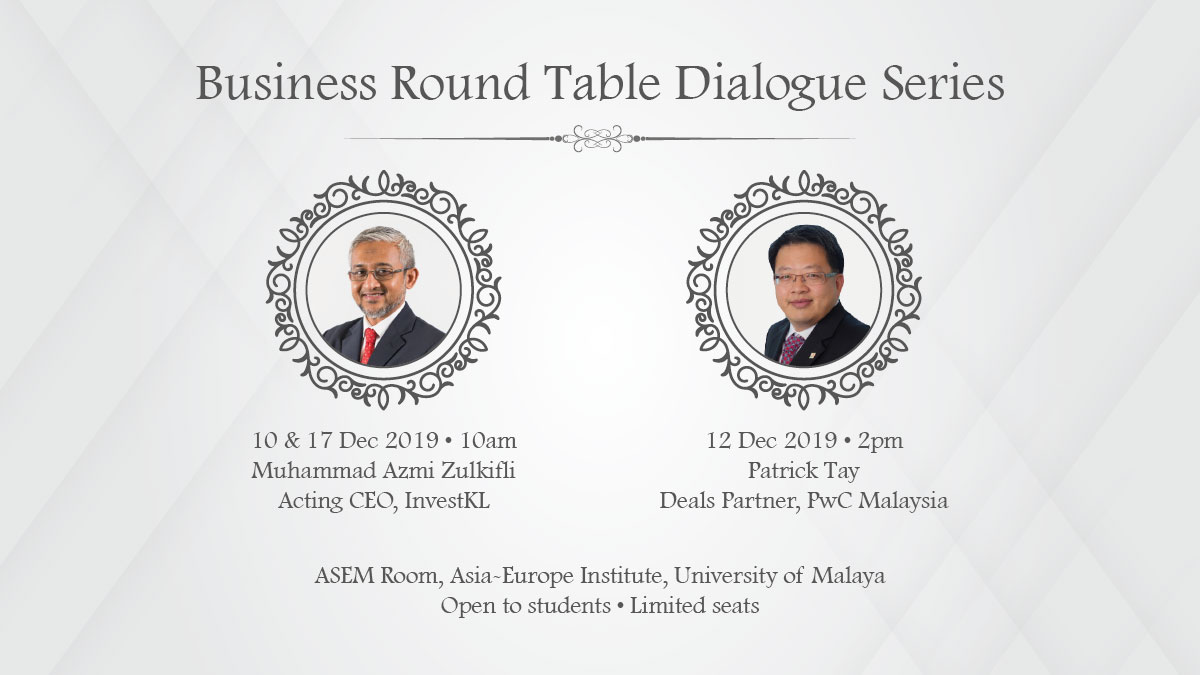 Business Round Table Dialogue Series