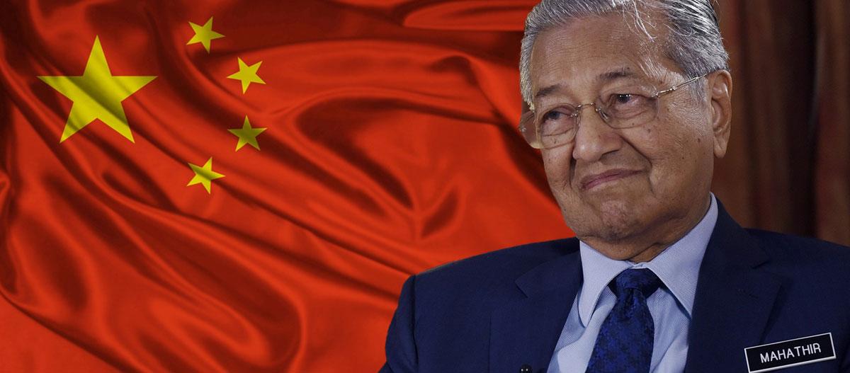 Mahathir & China