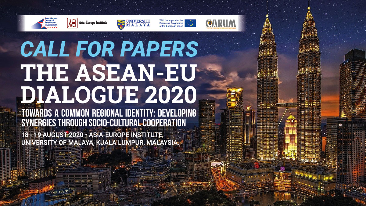 CALL FOR RESEARCH PAPERS: The ASEAN-EU Dialogue 2020