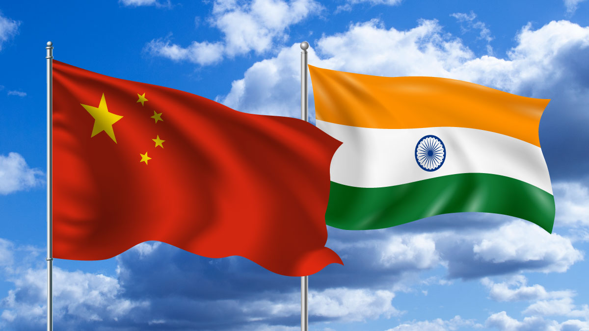 Where is India weaker than China
