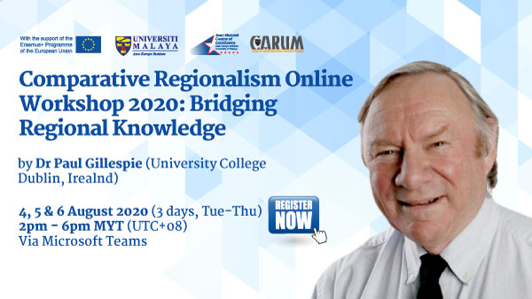 Comparative Regionalism Online Workshop 2020: Bridging Regional Knowledge