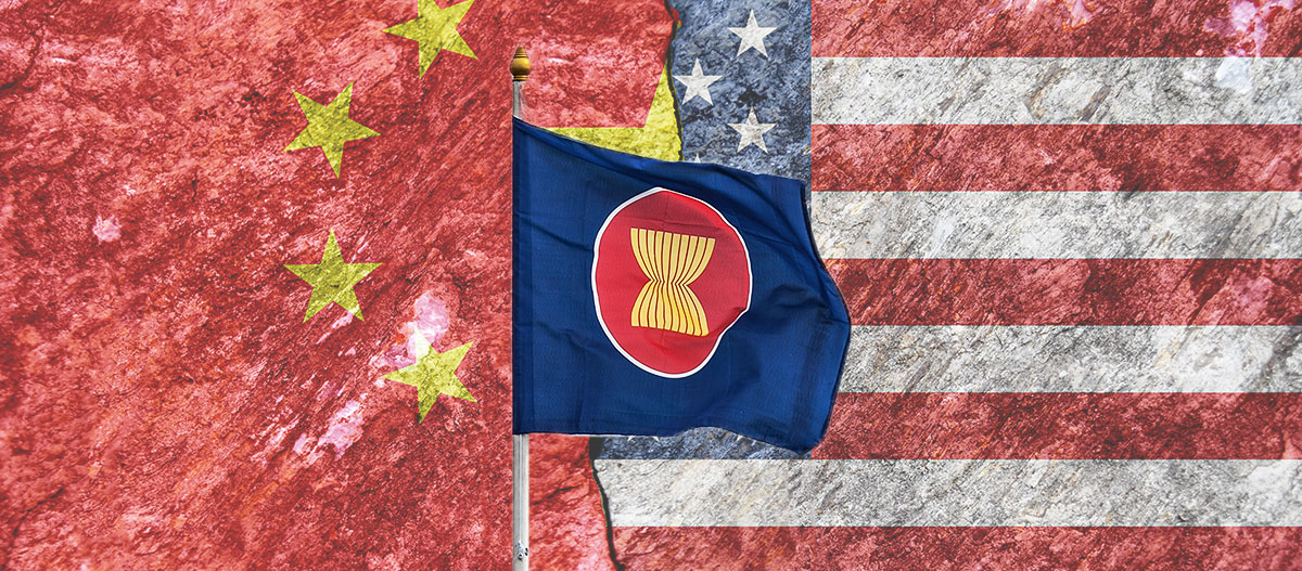 US China ASEAN