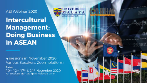 Webinar: Intercultural Management - Doing Business In ASEAN