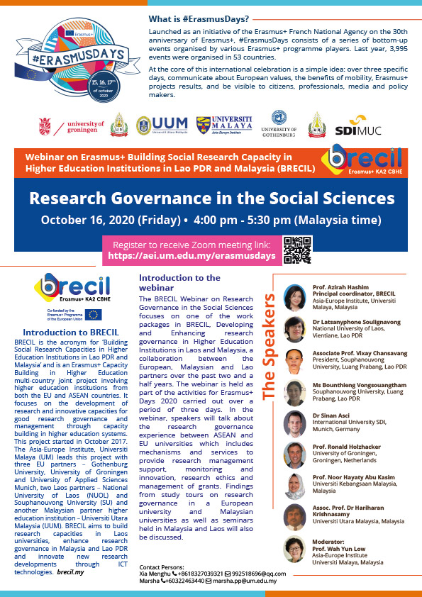Research Governance in the Social Sciences