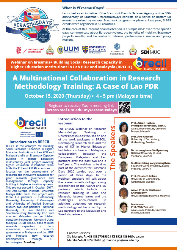 A Multinational Collaboration in Research Methodology Training: A Case of Lao PDR