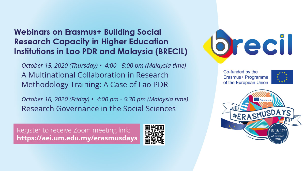 ErasmusDays - Webinars on BRECIL