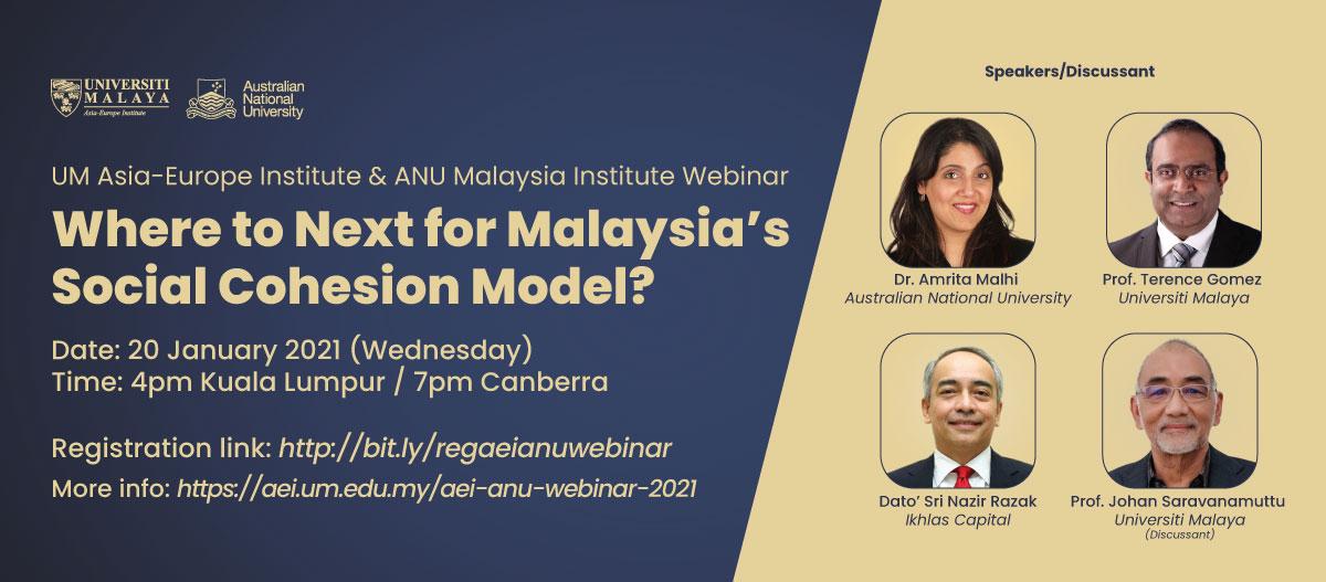 UM Asia-Europe Institute & ANU Malaysia Institute Webinar