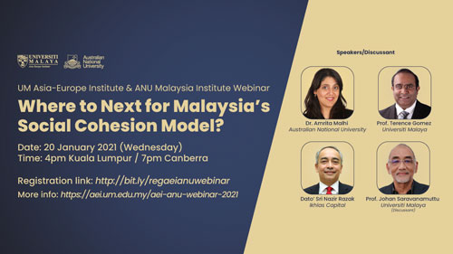 UM Asia-Europe Institute & ANU Malaysia Institute Webinar
