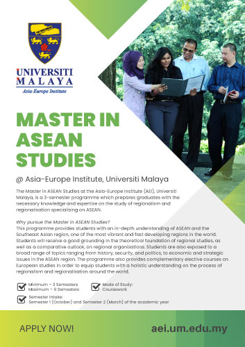 Master in ASEAN Studies (MAS)