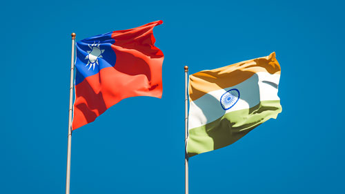 Time for Taiwan, India to team up