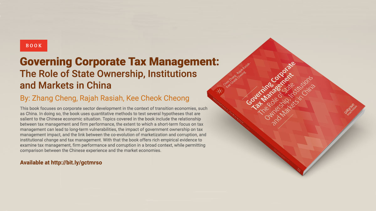 Governing Corporate Tax Management: The Role of State Ownership, Institutions and Markets in China