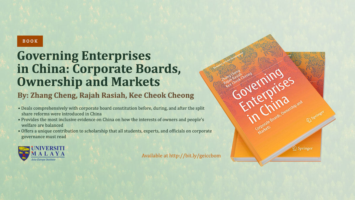 Governing Enterprises in China: Corporate Boards, Ownership and Markets