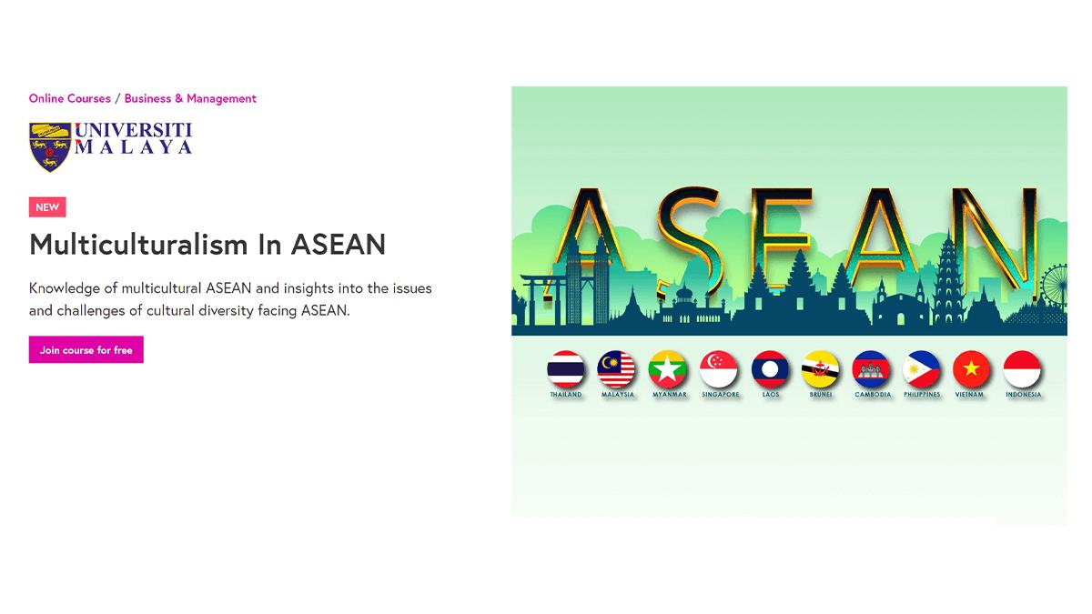 Multiculturalism in ASEAN - Online Course