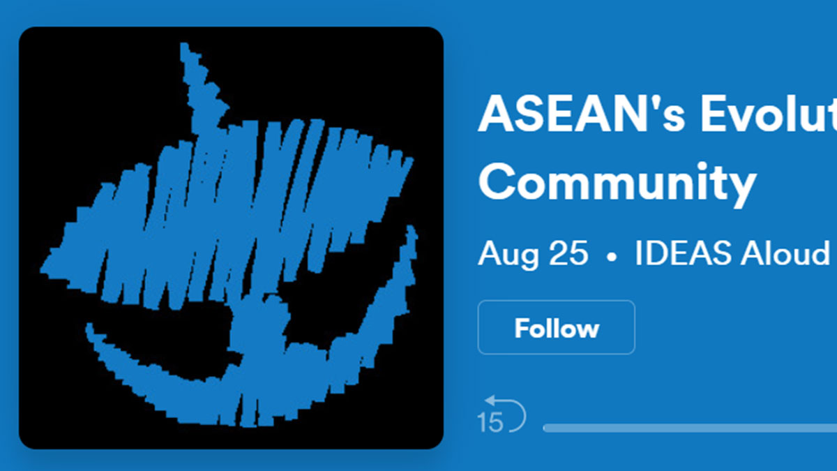 ASEAN's Evolution as a Security Community