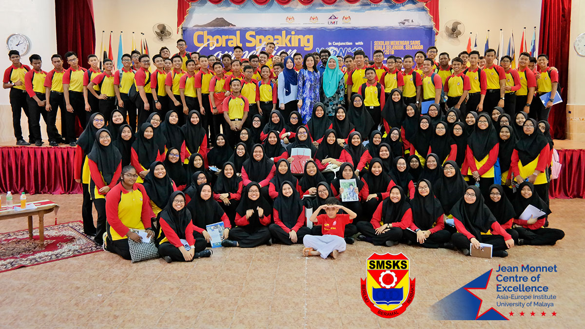 Report for Europe Day High School Outreach Program - Sekolah Menengah Sains Kuala Selangor
