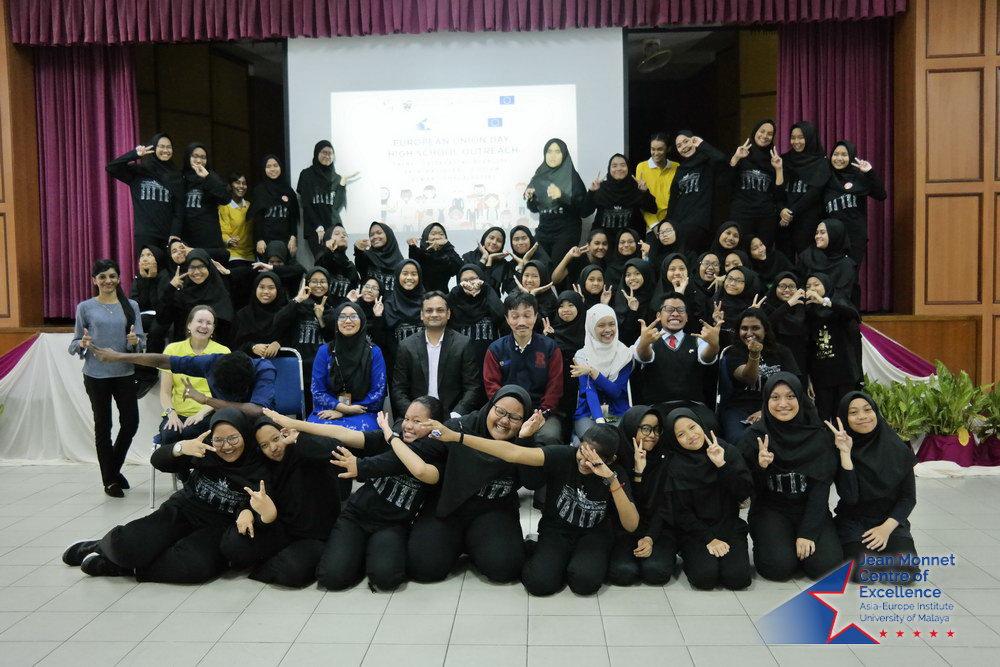 Europe Day High School Outreach 2018 - SM Sains Seri Puteri, Kuala Lumpur