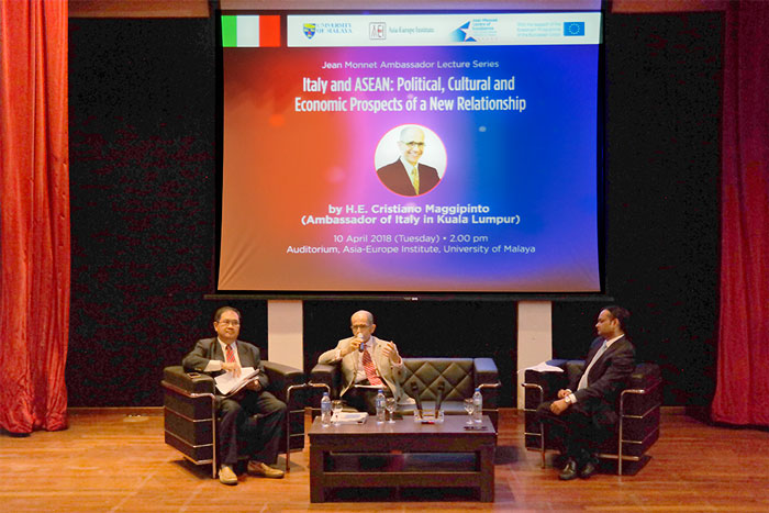 Jean Monnet Ambassador Lecture Series: H.E. Cristiano Maggipinto (Ambassador of Italy in Kuala Lumpur)