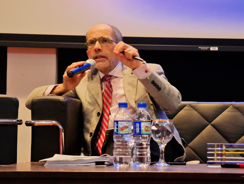 Italian ambassador speaks at Asia-Europe Institute