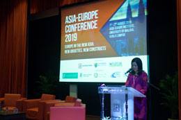 Prof. Dr. Azirah Hashim, Executive Director of Asia-Europe Institute, University of Malaya