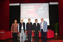 Session 4 Panellists - (from left to right) Prof. Yanyan Mochamad Yani, Professor S.D. Muni, Dr. Sharifah Munirah Syed Hussein Alatas (moderator), YM Raja Dato' Nushirwan Zainal Abidin and Dr. Paul Gillespie