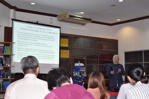 Dr. Corrado Letta from  Asia-Europe Insitute, UM