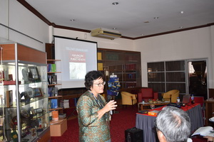 Professor Dr. Low Wah Yun @ Sarinah Low binti Abdullah from Asia-Europe Institute, UM