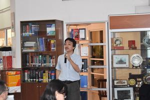 Assoc. Prof. Dr. Fumitaka Furuoka from Asia-Europe Institute, UM