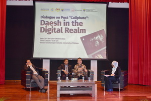 "Panel Session I: Terrorist Use of Online Space – Post ""Caliphate"""