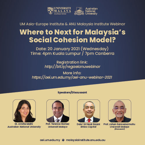 Where to Next for Malaysia's Social Cohesion Model?