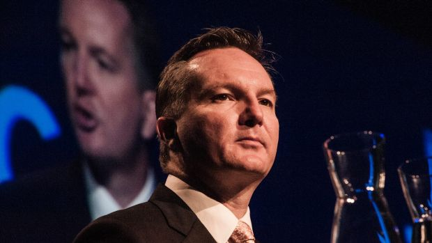Shadow treasurer Chris Bowen is marking out a clear policy difference on China