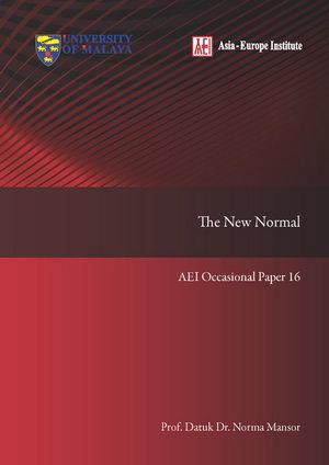 AEI Occasional Paper 16